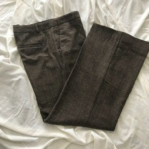 Fully lined wool trousers